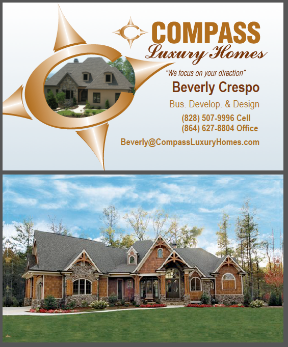 Compass Business Card