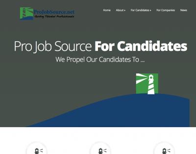 Pro Job Source Website