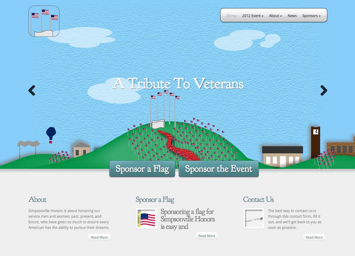 Simpsonville Honors Website