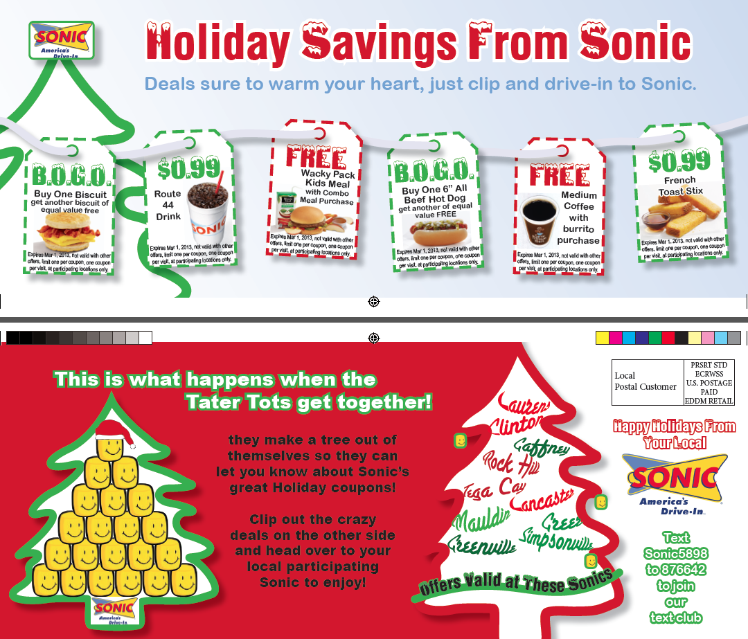 Sonic Winter Coupons
